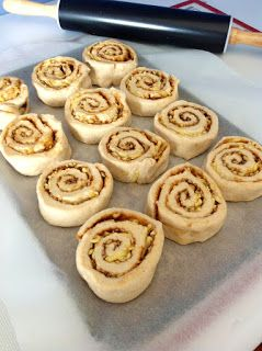 Three kids and the cook: Thermomix Wholemeal Cheese & Vegemite Scrolls - double the love