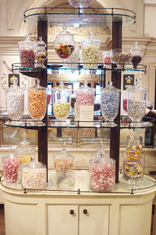candy display in the Fortnum & Mason ~ photo by Such Pretty Things