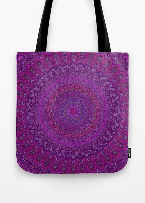 Tote Bag - Cozmic Bloom Bag by VIDA VIDA Ein0zCVbCl