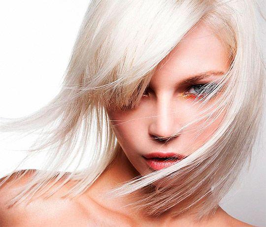 модные светлые, осветленные волосы фото 2014