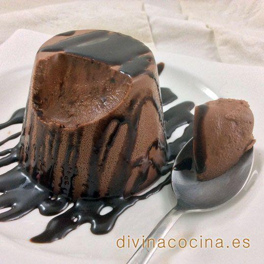 Panna cotta de chocolate » Divina CocinaRecetas fáciles, cocina andaluza y del mundo. » Divina Cocina