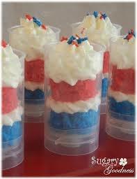 Cake and Cream....a dream in a glass!