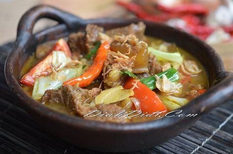 Tongseng slow cooker