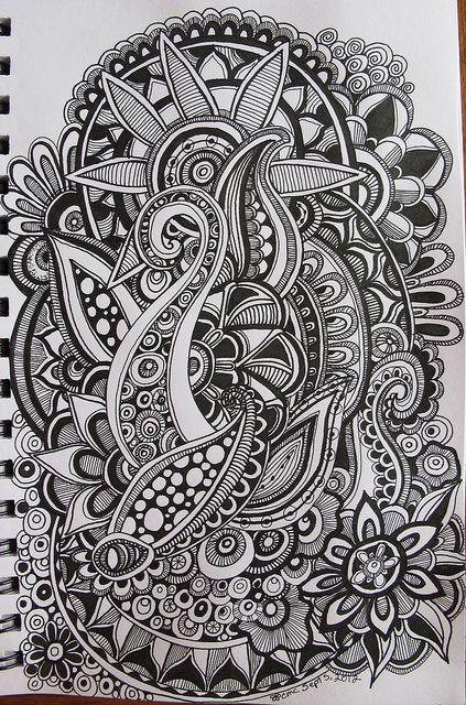 Doodle #zentangle