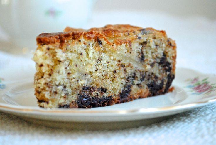 Pærekage med chokolade (den gode kage vol. 2)
