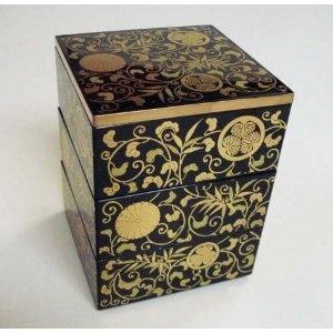 Mini Jubako Japanese Laquered Box