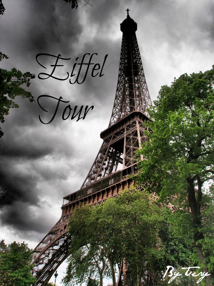 Tour Eiffel ve městě Paris, Île-de-France