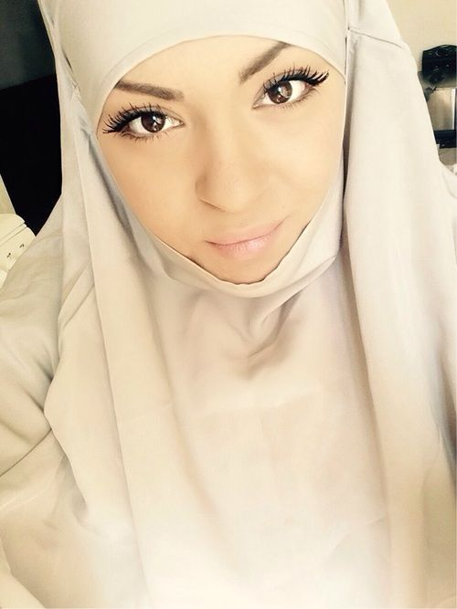 Image de hijab, voile, and muslima
