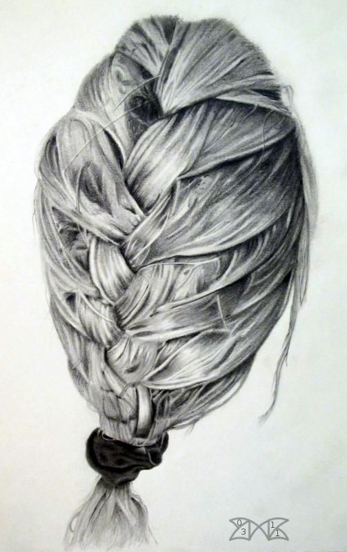 Groovy 17 Best Images About Braid Drawing On Pinterest Illustration Hairstyle Inspiration Daily Dogsangcom