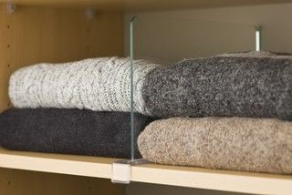 a way to organize sweaters