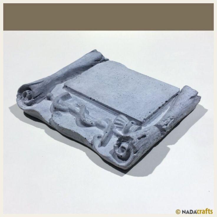 Fraude Plaket, NadaCrafts.com | Concrete Ürünler