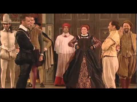 End of play jig for Richard II from Shakespeare's Globe, London, 6th September 2003 as broadcast live on BBC4.