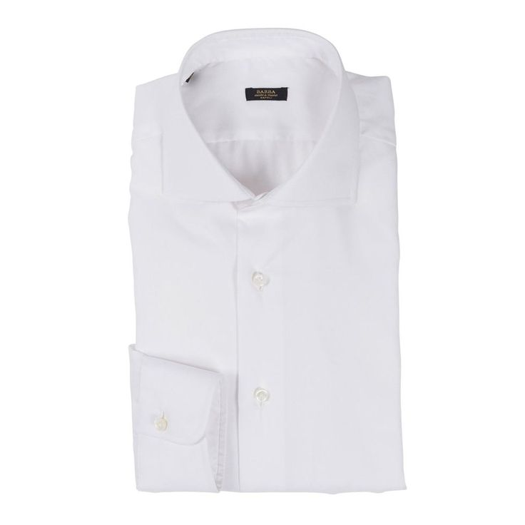 White Shirts:  One of the most diverse interpretations of a white shirt from Barba Napoli. Cutaway, single cuff and stylish makes the model works for virtually any situation.