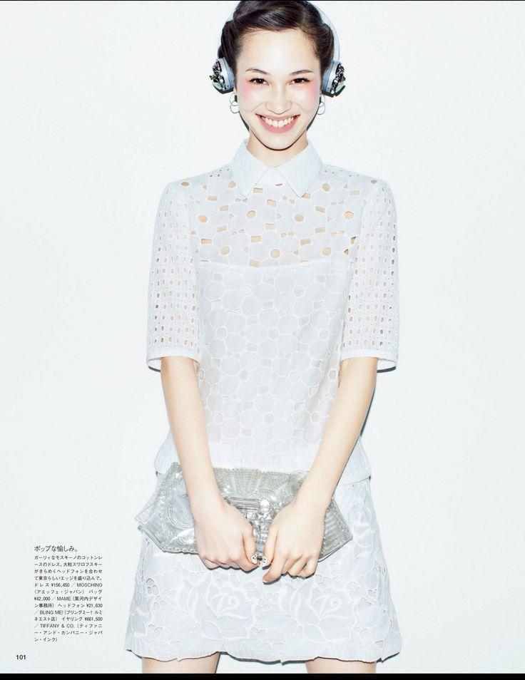 """""""Short But Sweet"""" for Vogue Japan May 2013 : Kiko Mizuhara"""