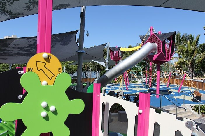 Neverland inspired, Riverside Green is a state of the art play area designed to cater for a range of ages and to encourage imaginative and physical play.