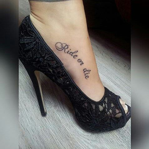 Best 25 ride or die tattoo ideas on pinterest cars for Ride or die tattoo
