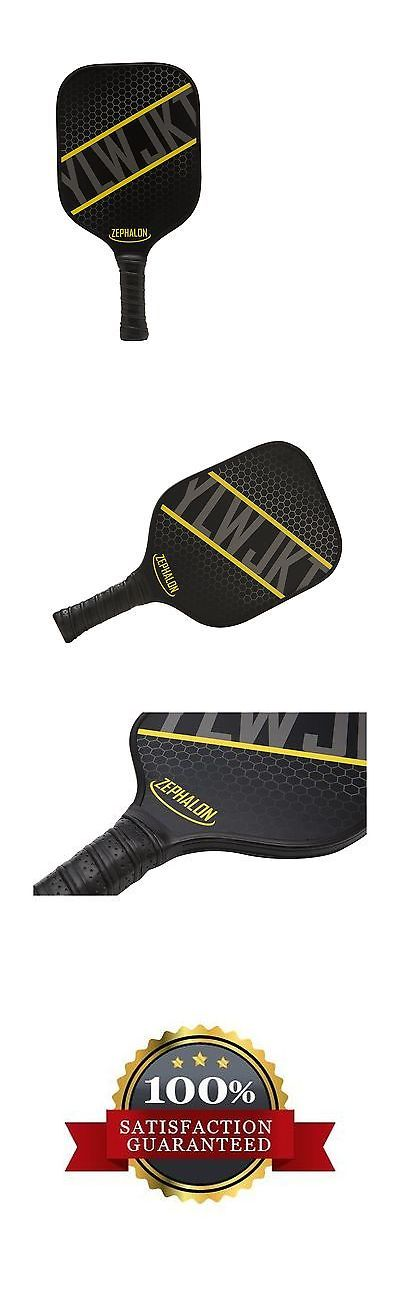 Other Tennis and Racquet Sports 159135: Zephalon Pickleball Paddle Graphite Composite Face With Nomex Honeycomb Core -> BUY IT NOW ONLY: $67.09 on eBay!
