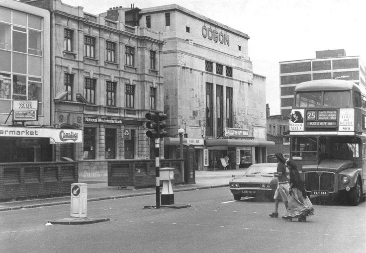 Odeon Cinema, Romford Road, Forest Gate. October 1975.