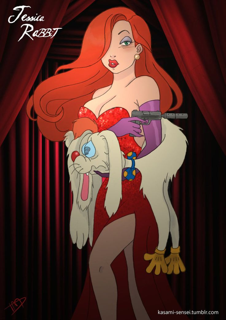 Twisted Disney | Jessica Rabbit by Thomas [©2013-2014 Kasami-Sensei]