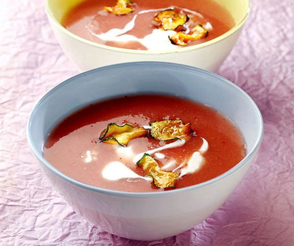 Kalte Sommersuppe