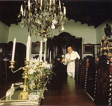 Liberace The Main Dining Room At The Cloisters Palm
