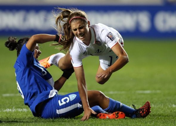 When Alex Morgan went down with an apparent ankle injury against Guatemala, the soccer world held their breath. It looked pretty serious on first glance as she was put onto a stretcher and taken off the field. However, post-game she spoke to Fox Sports about her injury As stated in the video, Morgan thinks her […]