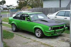 1977 Green Torana hatchback 355 Stroker SS SLR A9X Monaro