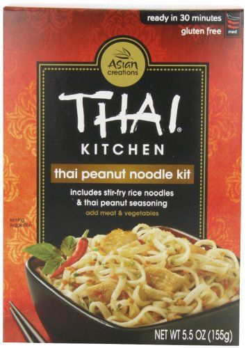 Thai Kitchen GlutenFree Thai Peanut StirFry Noodles 55 oz >>> You can get more details by clicking on the image. (Note:Amazon affiliate link)