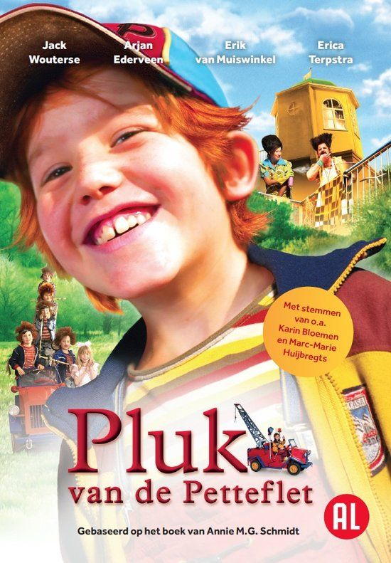 pluk van de petteflat Dit boek/ deze film maakt onderdeel uit van de lijst met verfilmde kinderboeken van voorleesjuffie doe je mee? http://www.voorleesjuffie.com/easy-seo-blog/de-verfilmde-boekenlijst-van-voorleesjuffie--alle-verfilmde-nederlandse-kinderboeken-op-een-rij-