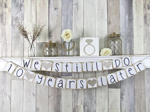 We Still Do Banner We Still Do Sign by WeddingBannerLove on Etsy