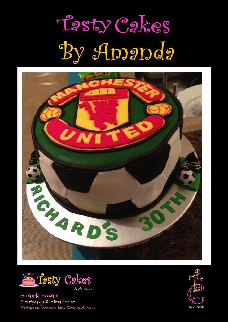 Manchester United 30th Birthday Cake