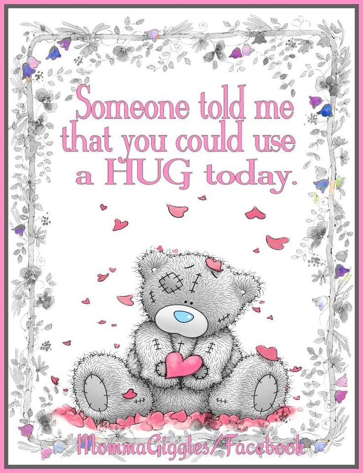 Tatty Teddy Bear - (((Hugs)))