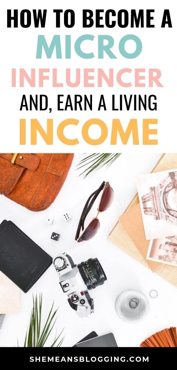 Wie man ein Mikro-Influencer wird und Geld verdient   – Make Money blogging
