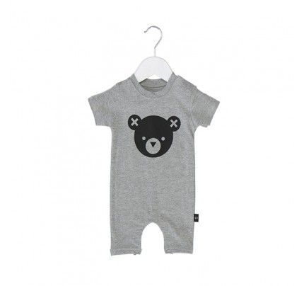 Bear Essentials SS Romper