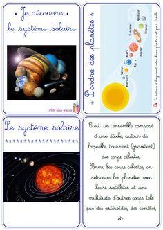Un dossier complet pour découvrir les différentes planètes du système solaire avec des élèves de cycle 2 (CP-CE1) ou de cycle 3 (CE2-CM1).                                                                                                                                                                                 Plus