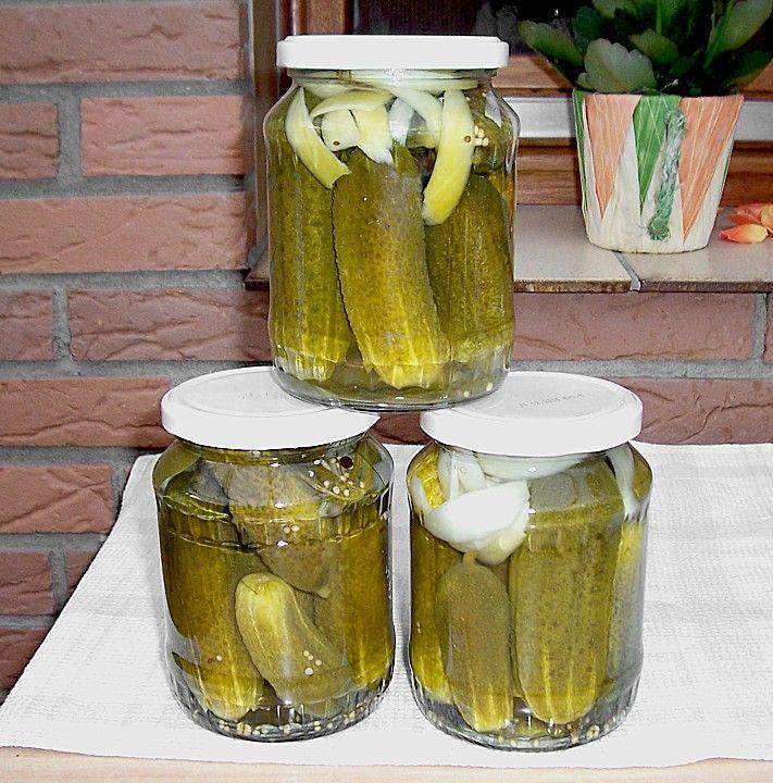 Gewürzgurken (Rezept mit Bild) von Pewe | Chefkoch.de