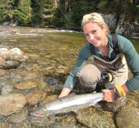 April Vokey Profiled on 60 Minutes Sports - Fly Fisherman