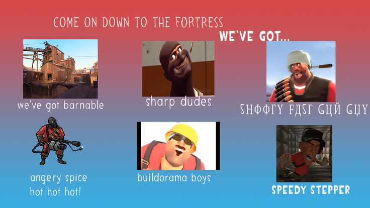 Come on down to the Fortress #games #teamfortress2 #steam #tf2 #SteamNewRelease #gaming #Valve