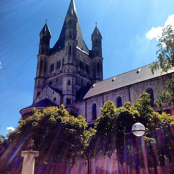 Groß St. Martin in Köln, Nordrhein-Westfalen