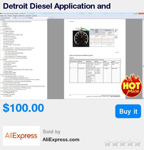 Detroit Diesel Application and Installation Manuals * Pub Date: 08:36 Jul 10 2017