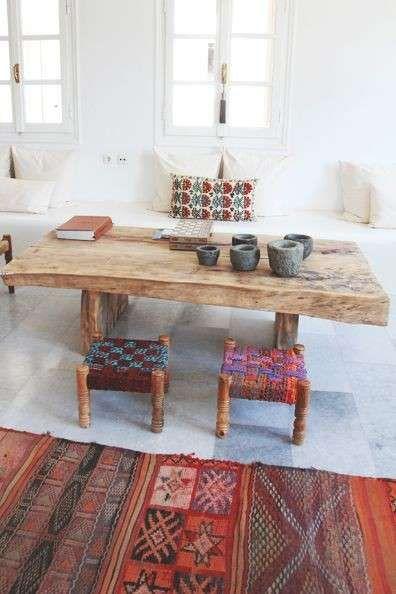 Arredare soggiorno in stile etnico - Arredamento rustico ed etnico