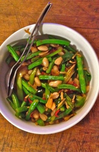 Gok Wan's Green Bean Stir Fry