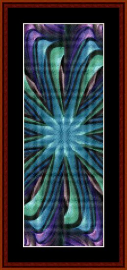 Click to view FREE Fractal counted cross stitch pattern!  Free December 2014 only
