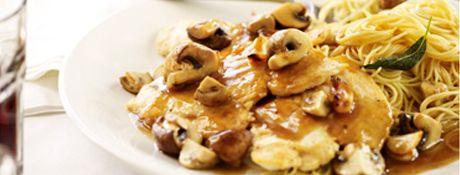 Romano's Macaroni Grill Mushroom Marsala
