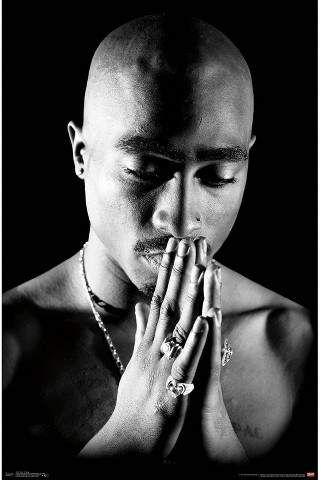 34″x23″ Tupac Praying Unframed Wall Poster Print – Trends International,