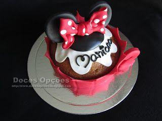 Doces Opções: Cupcake Minnie