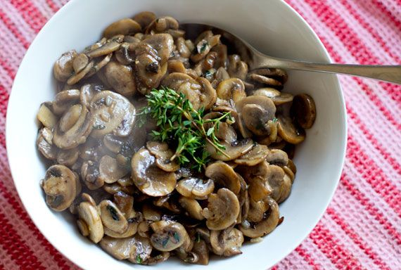 Thyme, Lemon & Garlic Mushrooms