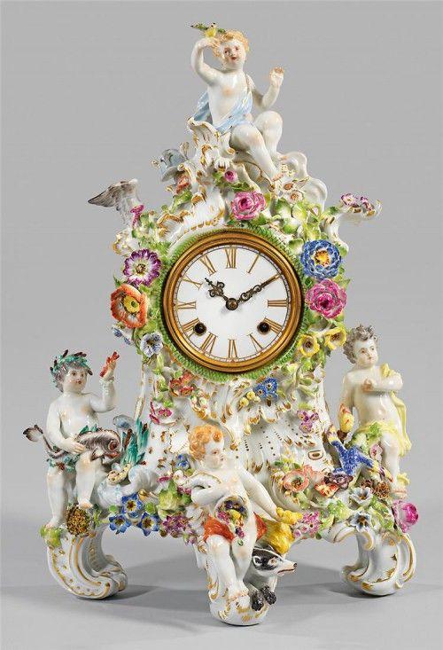 фарфоровые часы – 10