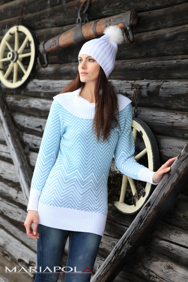 """""""Keep your heart warm"""" Mariapola Knitwear in Merinos Wool. Italian Manifacture and Fashion. Fall Winter 2014-2015.#winter#girl#freedom#natural#snow #wild"""
