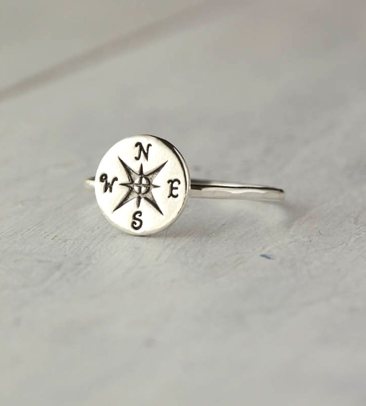 Sterling Silver Compass Ring | Jewelry Rings | 36ten | Scoutmob Shoppe | Product Detail
